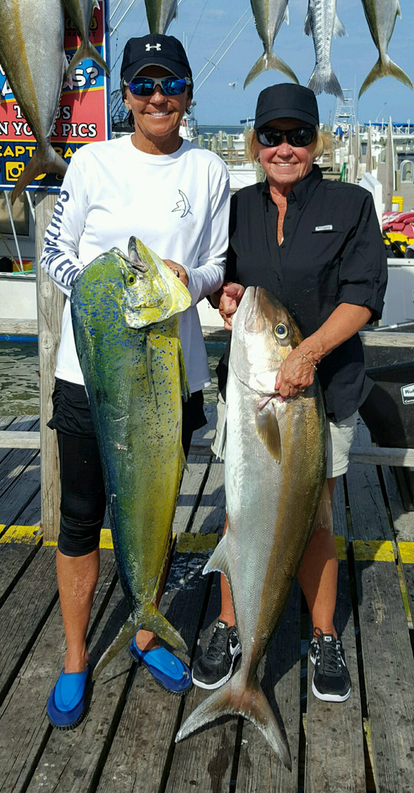 Mahi and Amberjack at the dock